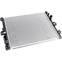 Plastic Tank Radiator, 17.24 in. H x 21.55 in. W x 1.38 in. Thickness Core Size