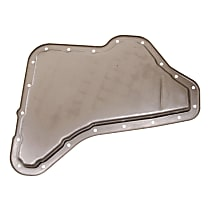 Transmission Pan - Natural, Steel, Stock Depth, Direct Fit, Sold individually