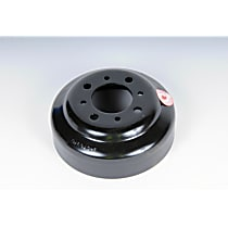 Water Pump Pulley - Black, Steel, Direct Fit, Sold individually