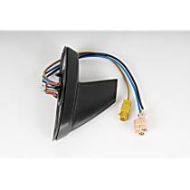 AC Delco 25814089 Antenna - Black, Plastic, Fixed Antenna, Direct Fit