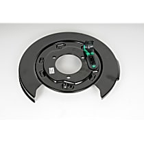 25911891 Brake Backing Plate - Direct Fit, Sold individually