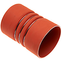 35050 Intercooler Hose - Red, Silicone, Direct Fit, Sold individually
