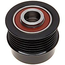 AC Delco 37015P Alternator Pulley - Serpentine, Direct Fit, Sold individually