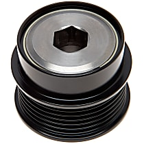 37016P Alternator Pulley - Serpentine, Direct Fit, Sold individually