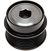 AC Delco 37016P Alternator Pulley - Serpentine, Direct Fit, Sold individually