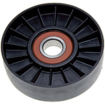 38007 Accessory Belt Idler Pulley - Direct Fit, Sold individually