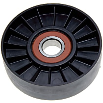 AC Delco 38007 Accessory Belt Idler Pulley - Direct Fit, Sold individually