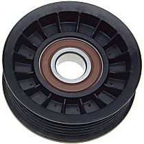 38009 Accessory Belt Idler Pulley - Direct Fit, Sold individually