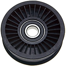 38012 Accessory Belt Idler Pulley - Direct Fit, Sold individually