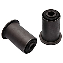 45G15393 Leaf Spring Bushing - Black, Direct Fit, Set of 2