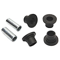 AC Delco 45G24022 Steering Rack Bushing - Black, Thermoplastic, Direct Fit, Kit