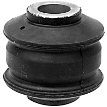 45G26038 Trailing Arm Bushing - Black, Direct Fit, Sold individually