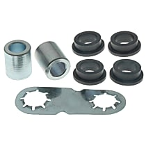 45G31001 Steering Rack Bushing - Black and chrome, Thermoplastic, Direct Fit, Kit