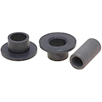 AC Delco 46G24038A Steering Rack Bushing - Black, Direct Fit, Kit