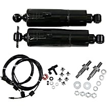OE Replacement Rear, Driver and Passenger Side Air Shock Absorber - Set of 2