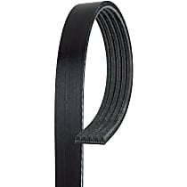AC Delco 5K757 Serpentine Belt - Direct Fit, Sold individually