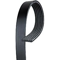 6K1000 Serpentine Belt - Fan belt, Direct Fit, Sold individually