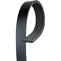 6K480 Serpentine Belt - Fan belt, Direct Fit, Sold individually