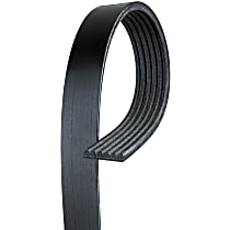 AC Delco 6K480 Serpentine Belt - Fan belt, Direct Fit, Sold individually