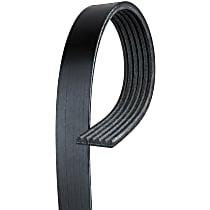 AC Delco 6K612 Serpentine Belt - Fan belt, Direct Fit, Sold individually