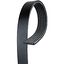 AC Delco 6K711 Serpentine Belt - Serpentine belt, Direct Fit, Sold individually