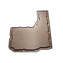 8681485 Transmission Pan - Natural, Steel, Stock Depth, Direct Fit, Sold individually