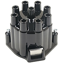AC Delco C349 Distributor Cap - Black, Direct Fit, Sold individually