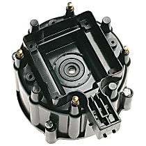 AC Delco C353 Distributor Cap - Black, Direct Fit, Sold individually