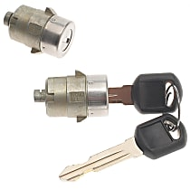 AC Delco D1480G Door Lock Cylinder - Chrome, Direct Fit, Set of 2