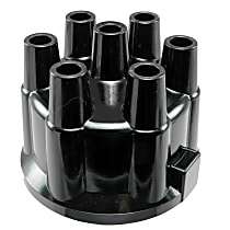D307 Distributor Cap - Black, Direct Fit, Sold individually