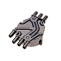 AC Delco D328A Distributor Cap - Black, Direct Fit, Sold individually