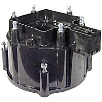 D335X Distributor Cap - Black, Direct Fit, Sold individually