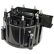 D336X Distributor Cap - Black, Direct Fit, Sold individually