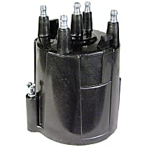 AC Delco D339X Distributor Cap - Black, Direct Fit, Sold individually