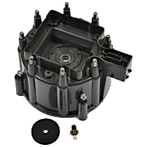 AC Delco D559A Distributor Cap - Black, Direct Fit, Sold individually