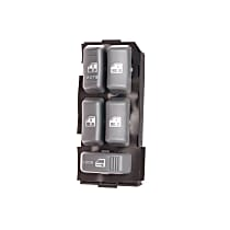 Door Lock Switch - Gray, Direct Fit, Sold individually