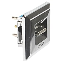 AC Delco D6221D Door Lock Switch - Chrome, Direct Fit, Sold individually