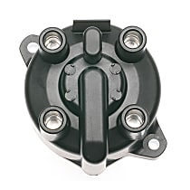 AC Delco E369D Distributor Cap - Black, Direct Fit, Sold individually