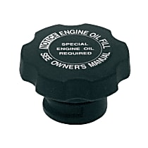 FC162 Oil Filler Cap - Black, Direct Fit, Sold individually