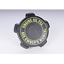 Oil Filler Cap - Black, Direct Fit, Sold individually