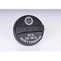AC Delco FC204 Oil Filler Cap - Black, Direct Fit, Sold individually