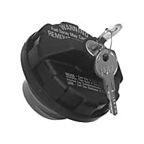 Gas Cap - Zinc-Plated, Locking, Direct Fit, Sold individually