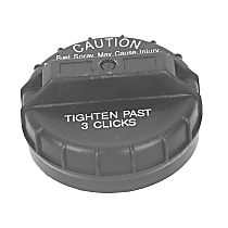 GT195 Gas Cap - Black, Non-locking, Direct Fit, Sold individually