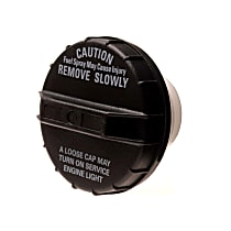 AC Delco GT215 Gas Cap - Black, Non-locking, Direct Fit, Sold individually