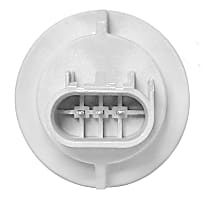 AC Delco LS106 Bulb Socket - Parking light/turn signal light, Direct Fit, Sold individually