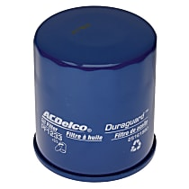 AC Delco PF1233 Oil Filter - Canister, Direct Fit, Sold individually