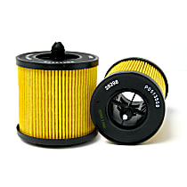 AC Delco PF457G Oil Filter - Cartridge, Direct Fit, Sold individually