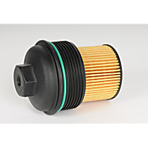 AC Delco PF458G Oil Filter - Cartridge, Direct Fit, Sold individually