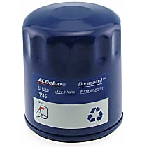 AC Delco PF46E Oil Filter - Canister, Direct Fit, Sold individually