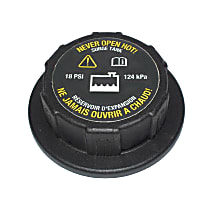 AC Delco RC105 Coolant Reservoir Cap - Direct Fit, Sold individually